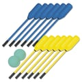 Champion Sports Soft Polo Set, Blue/Yellow