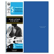 "Mead® Five Star® Trend 5-Subject Wirebound Notebook, 8 1/2"" x 11"""