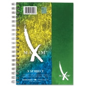 Roaring Spring Maxim Twin Wirebound Notebook, 9 1/2 x 6 1/2