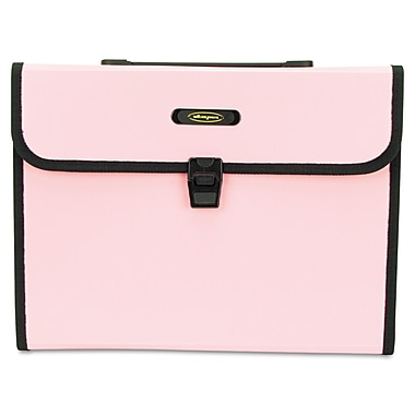 Wilson Jones® Letter Size 9 7/8in. x 13in. 7 Pockets Expanding File, Pink