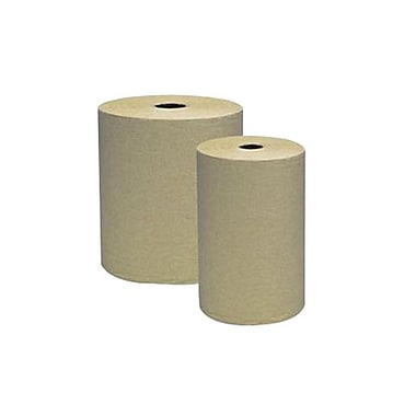 Genuine Joe® Hardwound Roll Towel, Natural, 12/Pack