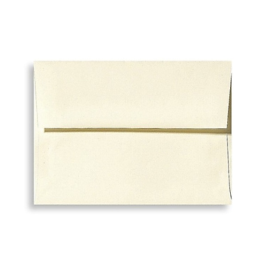 LUX A4 Invitation Envelopes (4 1/4 x 6 1/4) 250/Box, Natural Linen (4872-NLI-250)