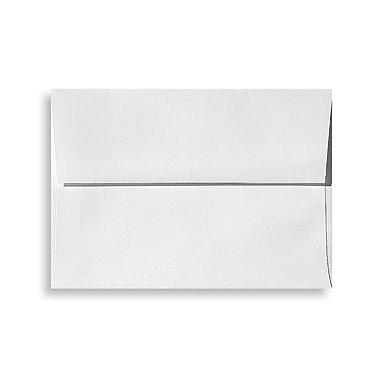 LUX A4 Invitation Envelopes (4 1/4 x 6 1/4) 500/Box, White Linen (4872-WLI-500)