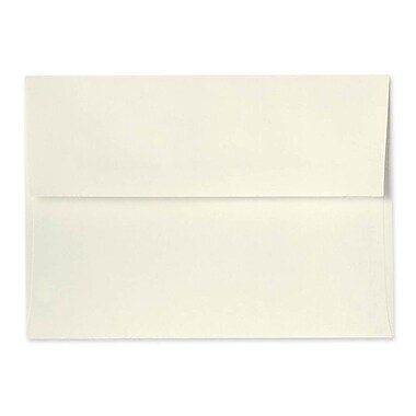LUX A10 Invitation Envelopes (6 x 9 1/2) 1000/Box, Natural (5890-01-1000)