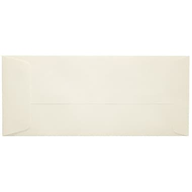 LUX Peel & Press #10 Open End Envelopes (4 1/8 x 9 1/2) 500/Box, Natural Linen (7716-NLI-500)