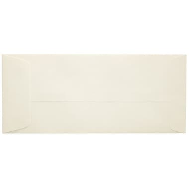 LUX Peel & Press #10 Open End Envelopes (4 1/8 x 9 1/2) 1000/Box, Natural (7716-NPC-1000)