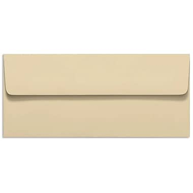 LUX Peel & Press #10 Square Flap Invitation Envelopes (4 1/8 x 9 1/2) 500/Box, Nude (LUX-4860-07-500)