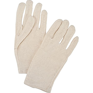 Zenith Safety Poly/Cotton Inspection Gloves, Heavy-Weight, Ladies, 120/Pack