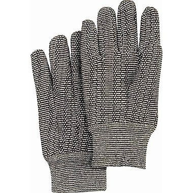 ZENITH SAFETY Jersey Gloves, Salt & Pepper