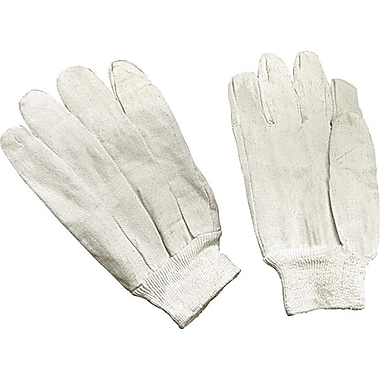 Zenith Safety Cotton Canvas Gloves, Large, 8 oz., 60/Pack