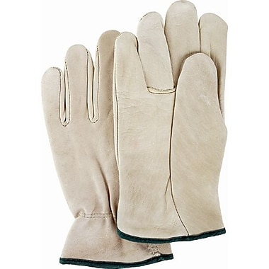 Zenith Safety Grain Cowhide Drivers Gloves, Medium Size, 12/Pack