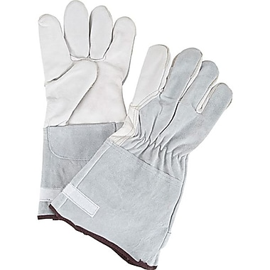 Zenith Safety Goat Grain Premium Quality Gloves, Small Size, 12/Pack