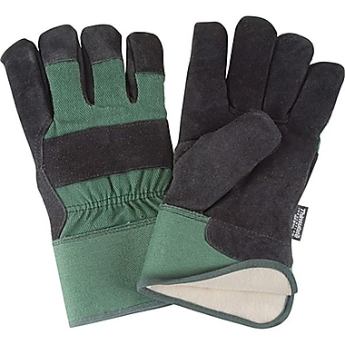 Zenith Safety Split Cowhide Fitters Thinsulate™ Lined Gloves, 2X-L, 12/Pack
