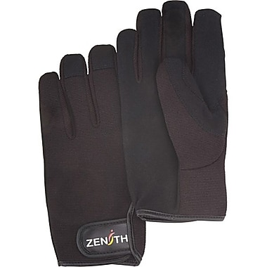 Zenith Safety ZM100 Mechanic Gloves, 2X-Large, 6/Pack