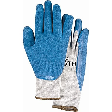 Zenith Safety Natural Rubber Latex Coated Gloves, Size 9, 36/Pack