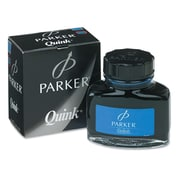 Parker® Super Quink Washable Ink Bottle For Parker Pen, Blue