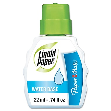 Paper Mate® Liquid Paper® Water Base Correction Fluid, 22 ml