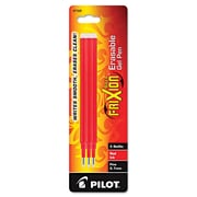 Pilot® Pen Refill For FitFriXion Erasable Gel Ink Pen, Red