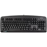 Ergoguys A4Tech® KBS-720A A-Shape Natural Ergonomic Keyboard, Black