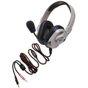 Califone® Titanium™ Series Washable Durable Headphones With Boom Microphone