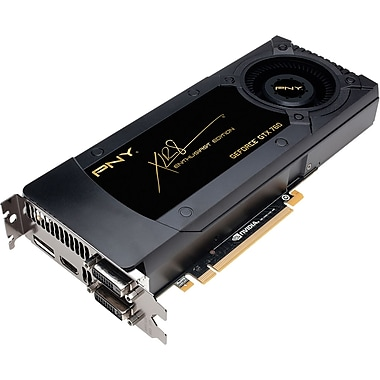 PNY® GeForce® GTX 760 2GB Plug-In 6008 MHz Graphic Card