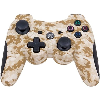 DreamGEAR® i.Sound DGPS3 Shadow 6 Wireless Controller For PS3, Desert Camo