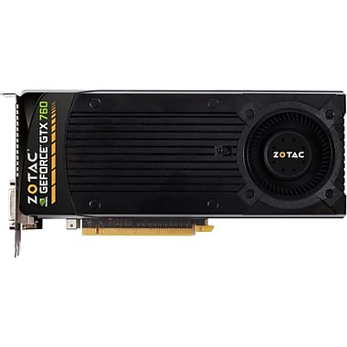 Zotac® GeForce® GTX760 4GB Plug-In 6008 MHz Graphic Card
