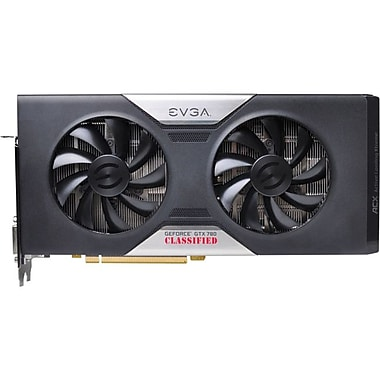 EVGA® GeForce® GTX 780 Dual Classified 3GB Plug-In 6008 MHz Graphic Card