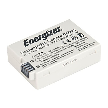 Energizer® ENB-CE8 Digital Replacement Battery LP-E8 For Canon Rebel T2i, T3i, T4i DSLR Camera