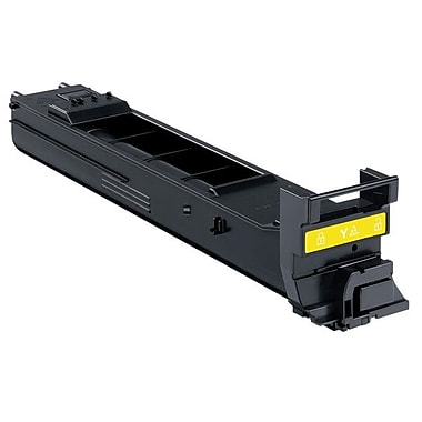 Konica Minolta Yellow Toner Cartridge, High Yield (A0DK232)