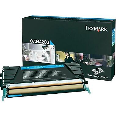 Lexmark C734/X734 Cyan Toner Cartridge (C734A2CG)