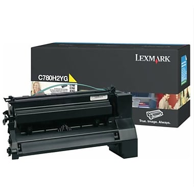 Lexmark C780 Yellow Toner Cartridge (C780H2YG), High Yield