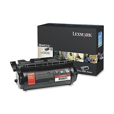 Lexmark – Cartouche de toner noir X644 (X644X21A), très haut rendement