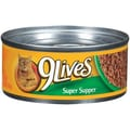 9 Lives Super Supper Cat Food (5.5-oz, case of 24)