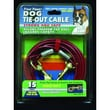 Four Paws Dog Heavy Tie Out Cable in Silver; 10 Feet