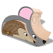Imperial Cat Scratch 'n Shapes Mouse and Hedgehog Combo Cardboard Scratching Board
