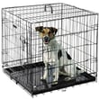 Pet Trex Folding Pet Crate Kennel Wire Cage for Dogs Cats or Rabbits; 24''