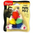 Hartz 5 Pack At Play Mini Mice Cat Toy (5 Pack)