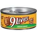 9 Lives Chicken Dinner Cat Food (5.5-oz, case of 24)