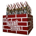 King Leo Giant Peppermint Sticks, 3.5 oz., 48 Pieces/Box