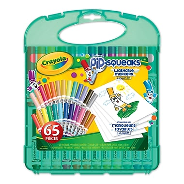 Crayola® Pip-Squeaks Markers and Paper Set