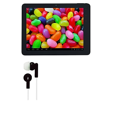 Supersonic Matrix MID 9.7in. Tablet, 8 GB, Android Jelly Bean, Wi-Fi, Black