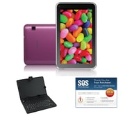 iView® Supra Pad 7 Capacitive Touchscreen 8GB Tablet, Pink