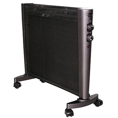 Optimus H-8411 Micathermic Flat-Panel Heater, Black
