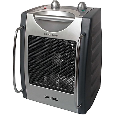 Optimus H-3015 Portable Utility Heater With Thermostat