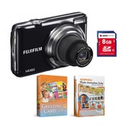 Fujifilm Finepix 14MP 3x Optical Zoom Digital Camera Bundle