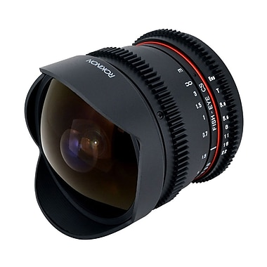 Rokinon® RK8MV-N 8mm f/3.5-22 T3.8 in.Cinein. Fisheye Lens For Nikon