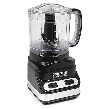 Better Chef® 2-Speed 3-Cup Extra Capacity Chopper, Black