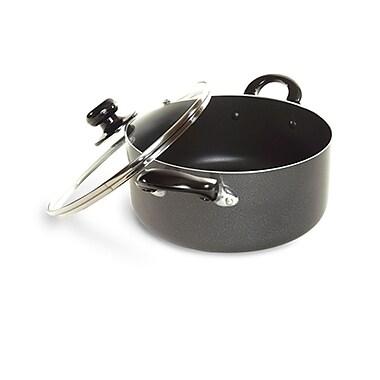 Better Chef® 8 qt (3mm Aluminum) Dutch Oven, Black