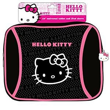 Sakar Hello Kitty® iPad Sleeve, Black